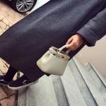 กระเป๋าแฟชั่นเกาหลีพร้อมส่ง รหัส SUIF0165GY สีเทา แบบน่ารัก เก๋ไก๋ค่ะ