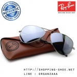 RayBan - RB3025 W3277 Aviator Silver Mirror Lens, 58 mm.