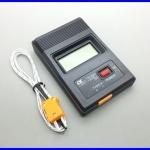 เทอร์โมมิเตอร์ เครื่องวัดอุณหภูมิ มิเตอร์วัดอุณหภูมิ TM-902C Digital LCD K Type Thermometer Single Input Thermocouple Probe -50 to1300°C