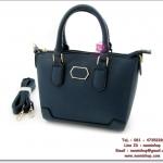 กระเป๋าแฟชั่นพร้อมส่ง รหัส HB-4058 หนัง PU นิ่ม