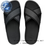 US11 : Fitflop Men's Surfer Slide Cool Grey ของแท้ นำเข้าจาก USA และ UK