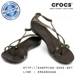 W4 (22 cm.) : Crocs Really Sexi Sandal - Espresso ของแท้ Outlet ไทยและอเมริกา