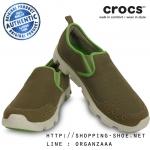M7 (25.5 cm.) : Crocs Duet Sport Sneaker - Khaki / Stucco ของแท้ Outlet ไทยและอเมริกา