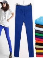 พรีออเดอร์ : G9136 : กางเกงสกินนี่ขายาว ไซส์ S,M,L,XL,2XL มี 7 สี (สีกากีเข้ม/สีเขียว/สีแดงเลือดหมู/สีน้ำเงิน/สีกรมท่า/สีดำ/สีขาว/สีเบจ/สีกาแฟ)