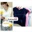 เสื้อแฟชั่น ผ้าฮานาโกะ สีชมพู แต่งระบายอกสวยหวาน สินค้าคุณภาพ ราคาไม่แพง thumbnail 3
