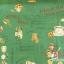 ผ้าคอตตอนญี่ปุ่น ลายอาหารสไตล์วินเทจ สีเขียว ของ Yuwa Life Collection เนื้อบาง thumbnail 2