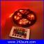 LES036 ไฟLED RGB 300LEDs Flexible Strip Ribbon 5M 3528 12V 60LED/M พร้อมชุดรีโมทควบคุม เปลี่ยนสีได้ (ไม่กันน้ำ) thumbnail 4