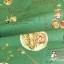 ผ้าคอตตอนญี่ปุ่น ลายอาหารสไตล์วินเทจ สีเขียว ของ Yuwa Life Collection เนื้อบาง thumbnail 3