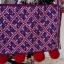 (สินค้าสั่งทำ) กระเป๋าลายปักสะพายสายยาว ปักเต็มใบ โทนชมพูม่วง thumbnail 2
