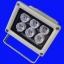 LFL008 โคมไฟ 6W White 400LM LED FloodLight Wall WashLight 6*1W แสงสีขาว (Chip from Taiwan) ยี่ห้อ OEM รุ่น 6X1W thumbnail 1