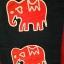 (สินค้าสั่งทำ)ผ้าลายช้างเล็ก ตัวละ 60 บาท นำไปตัดเย็บกระเป๋า เสื้อผ้า หรือใส่กรอบโชว์ thumbnail 2