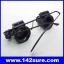 GLS003: แว่นตาขยาย แว่นตาซ่อมนาฬิกา แว่นขยายชิ้นงาน 2เลนส์ 20X Magnifier Magnifying Eye Glasses Loupe Lens Jeweler Watch Repair LED Light thumbnail 2