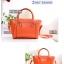 กระเป๋าแฟชั่น ดีไซน์สวยเรียบหรู สีส้ม คลาสสิค แบบยอดนิยม เหมาะกับทุกโอกาส สามารถถือและสะพายได้ทั้งสองแบบ ((โปรโมชั่นส่งฟรี)) thumbnail 2