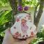 กระเป๋าปิ้กแป้กขนาด 7 cm สูง 5 นิ้ว ผ้าญี่ปุ่น ควิลล์มือ สำหรับใส่เหรียญ ของจุกจิก (สินค้าฝากขาย ไม่บวกเพิ่ม ) สำเนา thumbnail 2