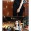 SALE//SALE (ส่งฟรี) เสื้อยืดคอกลม ลายกราฟฟิกทั้งตัว สีเทา เก๋ๆ กุ้นขอบคอและแขนสีดำ สไตล์เกาหลี thumbnail 7
