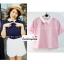 เสื้อแฟชั่น เสื้อทำงาน ผ้าฮานาโกะ สีกรมท่า คอปกเก๋ๆ แบบยอดนิยม สินค้าคุณภาพ ราคาไม่แพง thumbnail 5