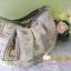 กระเป๋าแฮนด์เมด ผ้าญี่ปุ่น ต่อผ้าทั้งใบแล้ว สไตล์ หวาน ควิลล์มือ สายหนังแบบสะพายไหล่ มีช่องใส่ของด้านในอีก 3 ช่อง ปากกระเป๋าติดซิบ ขนาด 30x18 cm สายยาว 30 ซม thumbnail 1