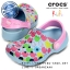 J1 (21.5 cm.) : Crocs Kids Classic Hello Kitty Apples - Sky Blue / Carnation ของแท้ Outlet ไทยและอเมริกา thumbnail 1