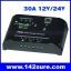 SCC010: โซล่าชาร์จเจอร์ โซล่าคอนโทรลเลอร์ Solar Charger Controller PWM 30A 12V/24V SLZ30 thumbnail 1