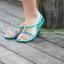 W6 (23.5 cm.) : Crocs Isabella Sandal - Berry / Oyster ของแท้ Outlet ไทยและอเมริกา thumbnail 3