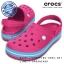 M4/W6 (23.5 cm.) : Crocband Clog - Candy Pink / Bluebell ของแท้ Outlet ไทยและอเมริกา thumbnail 1