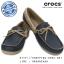 W7 (24 cm.) : Crocs Women's Wrap ColorLite Loafer - Navy / Tumbleweed ของแท้ Outlet ไทยและอเมริกา thumbnail 1