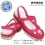 W7 (24 cm.) : Crocs Carlie Hello Kitty Flower Mary Jane - Fuchsia / White ของแท้ Outlet ไทยและอเมริกา thumbnail 1