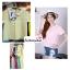 เสื้อแฟชั่น เสื้อทำงาน ผ้าฮานาโกะ สีชมพูเข้ม คอปกน่ารักๆ สินค้าคุณภาพ ราคาไม่แพง thumbnail 7