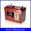 SBD023 : แบตเตอรี่ TROJAN แบตเตอรี่สำหรับการใช้งานระบบพลังงานทดแทน ชนิด Deep cycle battery 12V 105AH คุณภาพสูง ผลิตในประเทศอเมริกา TROJAN 27TMX thumbnail 1