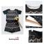พร้อมส่งค่า ชุดเสื้อ+กางเกง ผ้าลูกไม้ สีดำ มีซับในอย่างดี สวยหวาน สินค้าคุณภาพ ราคาไม่แพง thumbnail 3