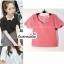 เสื้อแฟชั่นผ้าฮานาโกะ เสื้อทำงาน สีขาว คอและแขนเป็นหยักๆ สวยหวาน สินค้าคุณภาพ ราคาไม่แพง thumbnail 4