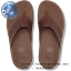 US7 : Fitflop Surfa Leather Lattice Dark Tan ของแท้ นำเข้าจาก USA และ UK thumbnail 1