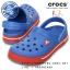 C8/9 (16 cm.) : Crocband II.5 Clog Kids - Varsity Blue / Red ของแท้ Outlet ไทยและอเมริกา thumbnail 1