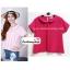 เสื้อแฟชั่น เสื้อทำงาน ผ้าฮานาโกะ สีชมพูเข้ม คอปกน่ารักๆ สินค้าคุณภาพ ราคาไม่แพง thumbnail 1