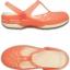 Crocs Carlie Cut Out Clog - Coral / Oyster ของแท้ Outlet ไทยและอเมริกา thumbnail 2