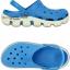 M4/W6 (24 cm.) : Crocs Duet Sport Clog - Ocean / White ของแท้ Outlet ไทยและอเมริกา thumbnail 2