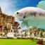 """(ขายแล้วครับ)""""คัดเกรด""""ปลากัดครีบสั้น-Halfmoon Plakats Fancy Dragon Marble thumbnail 1"""