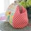 กระเป๋าปิ้กแป๊ก ใส่ของจุกจิก ขนาดปากกระเป๋ากว้าง 12 cm ตัวกระเป๋า กว้าง 17 สูง 12 ซม ++แถมสายโซ่คล้องมือ ขนาด 40 ซม ฟรี+++ thumbnail 3
