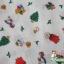 คอตตอนญี่ปุ่น ลายคริสต์มาส สีขาว เนื้อดีหมาะสำหรับงานผ้าทุกชนิด ตัด กระโปรง ทำกระเป๋า ปลอกหมอน และอื่นๆ thumbnail 4