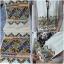 ผ้าพันคอ ปักโทนสีม่วงสดใส ปักเฉพาะตรงปลาย thumbnail 1