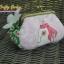 กระเป๋าปิ้กแป้กขนาด 7 cm ผ้าอเมริการ ควิลล์มือ สำหรับใส่เหรียญ ของจุกจิก (สินค้าฝากขาย ไม่บวกเพิ่ม ) thumbnail 2