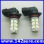 LFC025 หลอดไฟตัดหมอก สปอร์ตไลท์ 1คู่ 18LED 5050 SMD Auto Car Fog Light Lamp Bulb High Power thumbnail 1