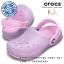 J2 (22.5 cm.) : Crocs Chameleons Translucent Clog Kids - Lavender / Carnation ของแท้ Outlet ไทยและอเมริกา thumbnail 1