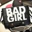 กระเป๋าแฟชั่น BAD GIRL สีดำ หนัง PU ใส่ IPAD ได้ มีสายสะพาย ((โปรโมชั่นส่งฟรี)) thumbnail 1