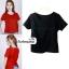 เสื้อแฟชั่น ผ้าฮานาโกะ สีดำ แบบสวยเก๋ แบบยอดนิยม สินค้าคุณภาพ ราคาไม่แพง thumbnail 1