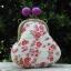 กระเป๋าปิ้กแป้กขนาด 7 cm สูง 5 นิ้ว ผ้าญี่ปุ่น ควิลล์มือ สำหรับใส่เหรียญ ของจุกจิก (สินค้าฝากขาย ไม่บวกเพิ่ม ) สำเนา thumbnail 3