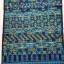 ผ้าปักลายกางเกง โทนสีน้ำเงินสดใส thumbnail 1
