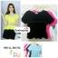 เสื้อแฟชั่น เสื้อทำงาน ผ้าฮานาโกะ สีดำ ดีไซน์สวยเรียบหรู สินค้าคุณภาพ ราคาไม่แพง thumbnail 1