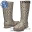 W6 : Crocs Wellie Leopard Print Boot - Graphite / Sand Dune ของแท้ Outlet ไทยและอเมริกา thumbnail 1