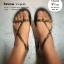 W7 (24.5 cm.) : Crocs Really Sexi Sandal - Black ของแท้ Outlet ไทยและอเมริกา thumbnail 7